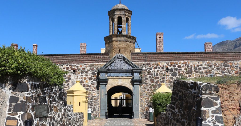 Entrance to the Castle Of Good Hope